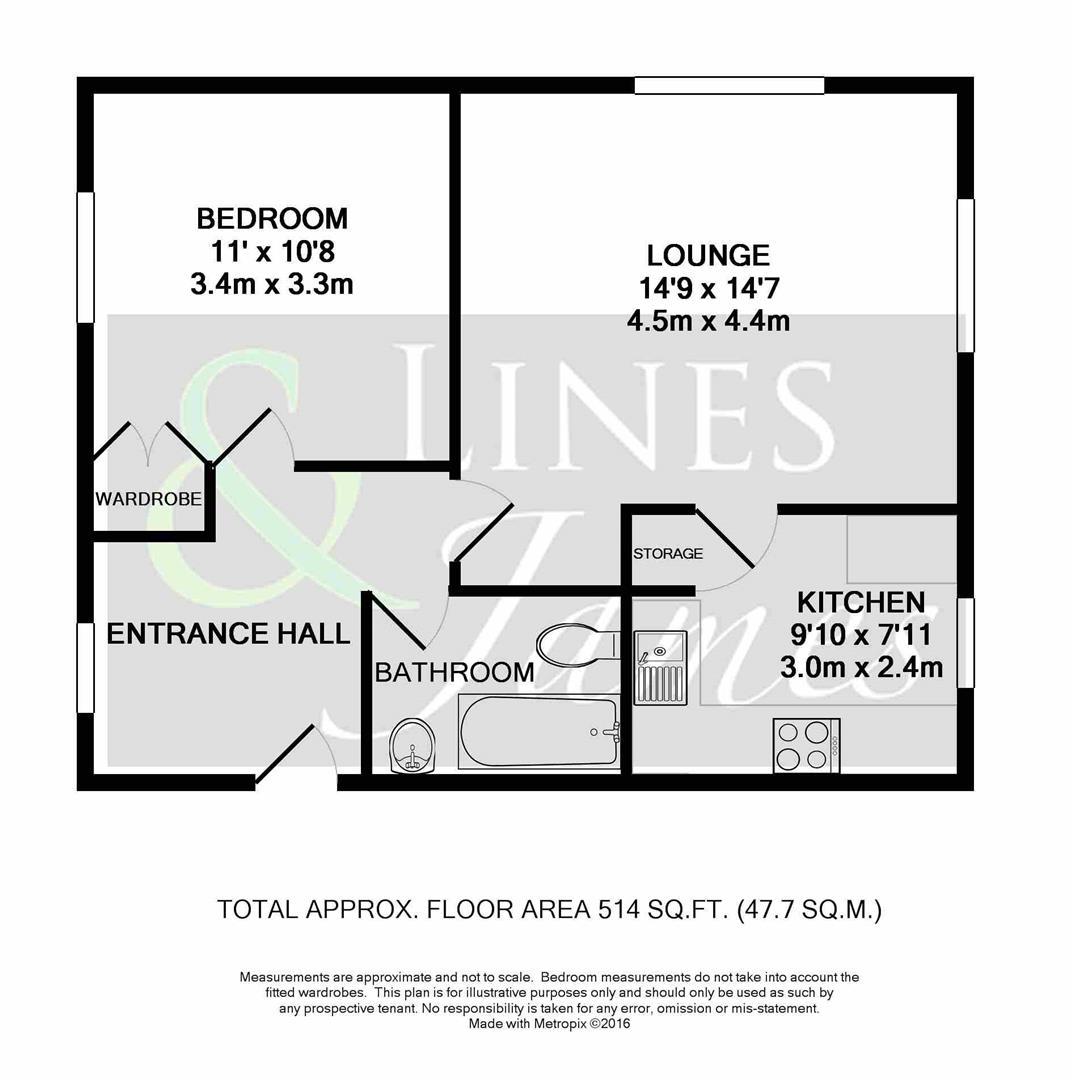 Floorplan for Abbotsbury Court, Horsham